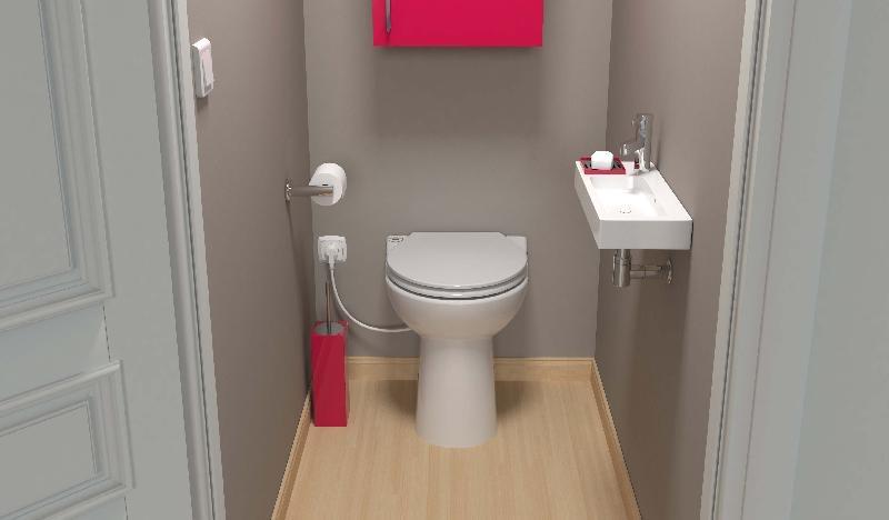 Badkamer Zonder Toilet : Een toilet op elke gewenste plek aangepast wonen