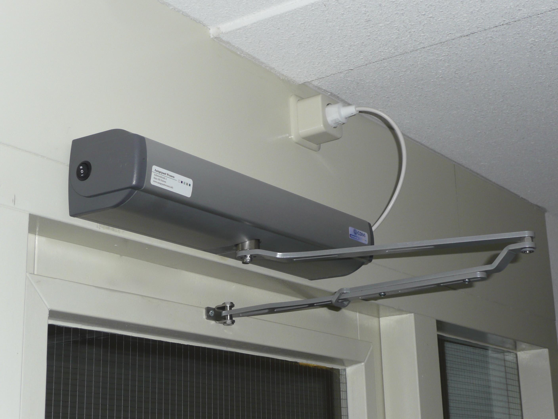 Geze Automatische Deuren : Automatische voordeur opener